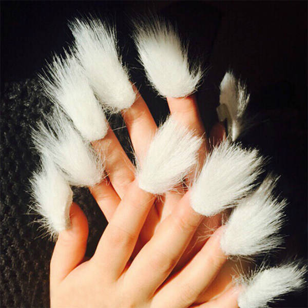 Furry Nails! Hell Nope!
