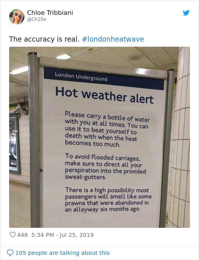 How Great Britain Reacts To The Extreme Heatwave