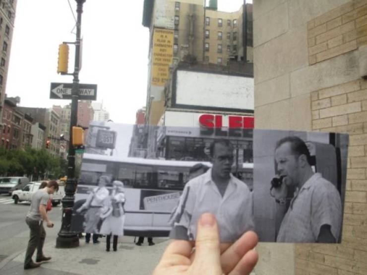 The Past And The Present Come Together In These Photos