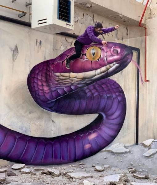 Amazingly Real Graffiti By SCAF