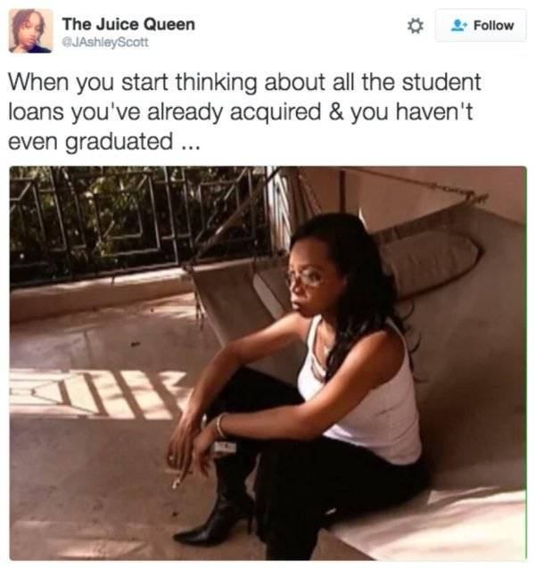 You Don't Have Enough Money For These Student Loan Tweets