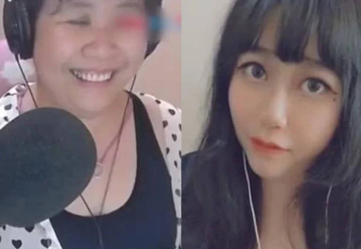 """Chinese Streamer """"Girl"""" Shows Her Real Face"""