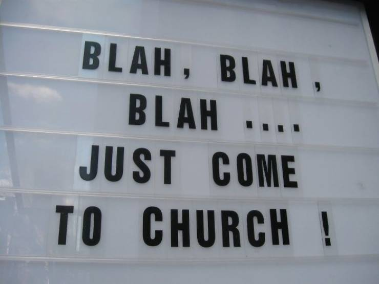 """This """"Radically Inclusive Church"""" Has Signs That Make People Both Laugh And Think About Their Lives"""