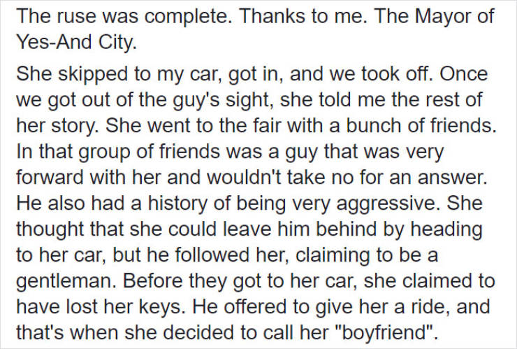 Uber Driver Saves His Passenger By Pretending To Be Her Boyfriend