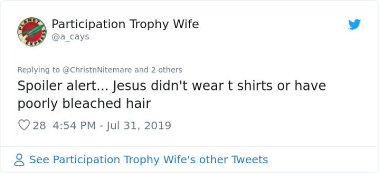 "Woman Wears A ""Jesus Wasn't Vaccinated"" T-Shirt, And Internet Reacts"