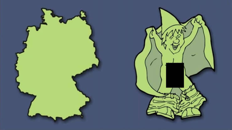 Artist Shows What Hides Behind The Shapes Of European Countries