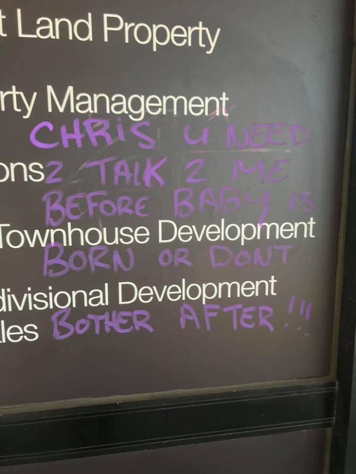 Looks Like Chris Is In Some Deep Trouble
