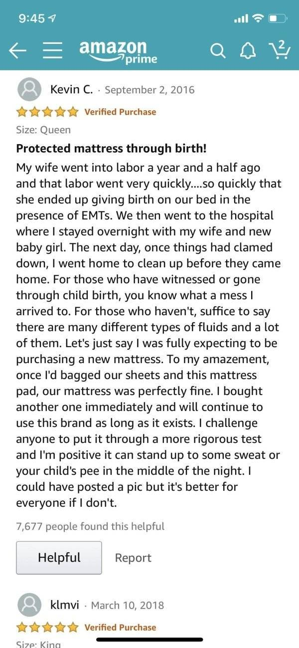 Amazon User Reviews: Five Out Of Five, Would Recommend