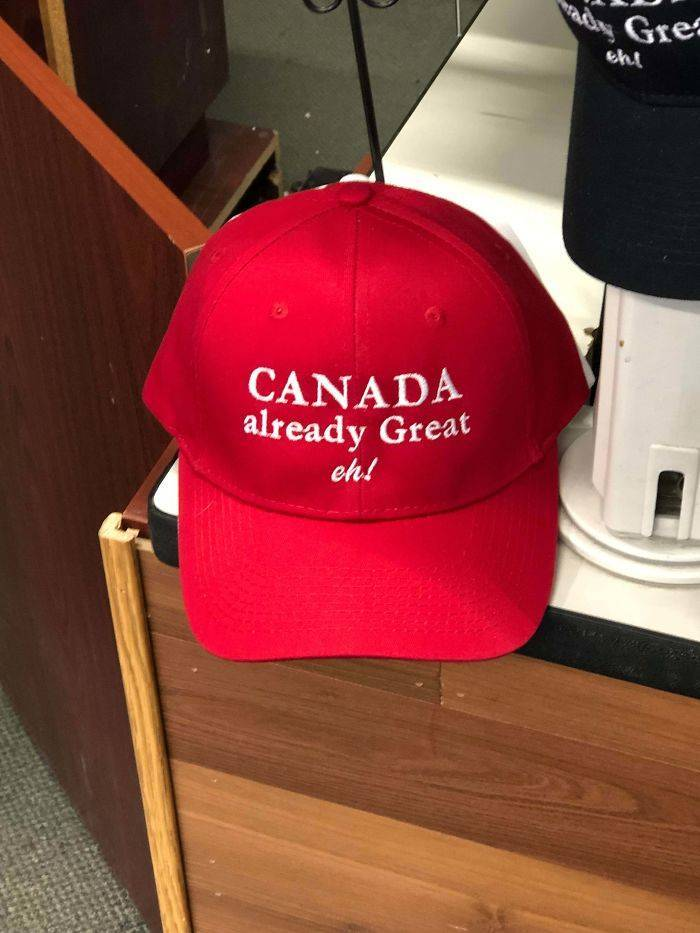 Looks Very Canadian, Eh?