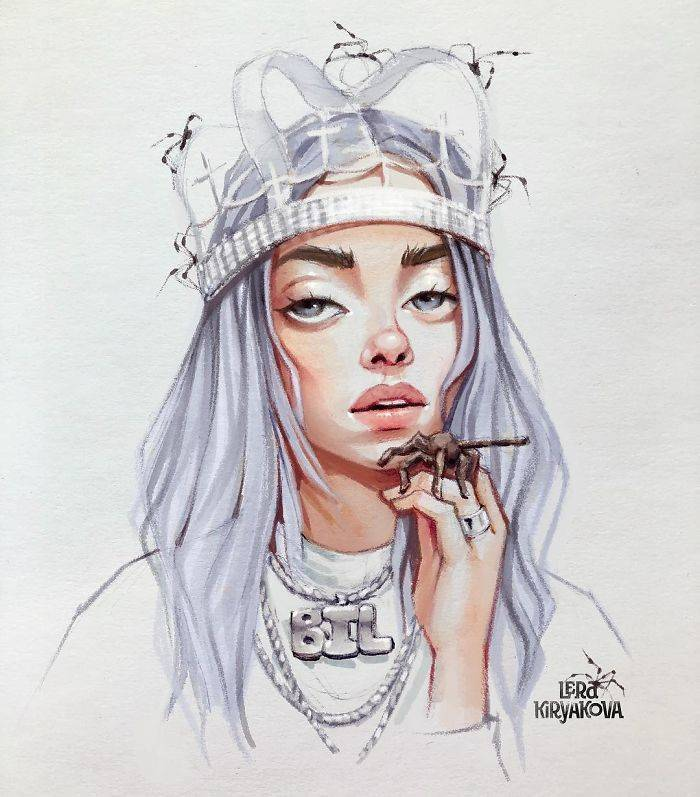 Artist Creates Cute Versions Of Celebrities