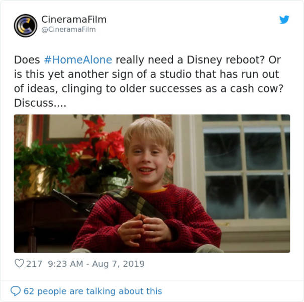 "Macaulay Culkin Is Ready For The Updated ""Home Alone""!"