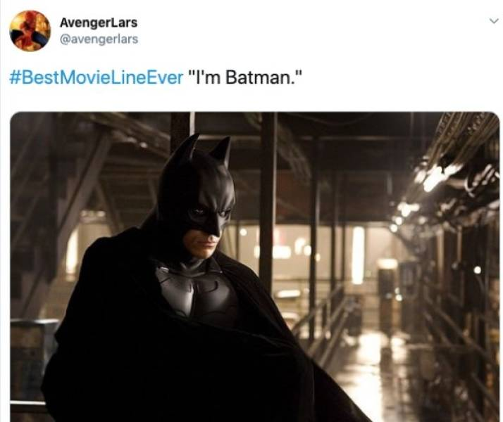 So What Are The Best Movie Lines Of All Time?
