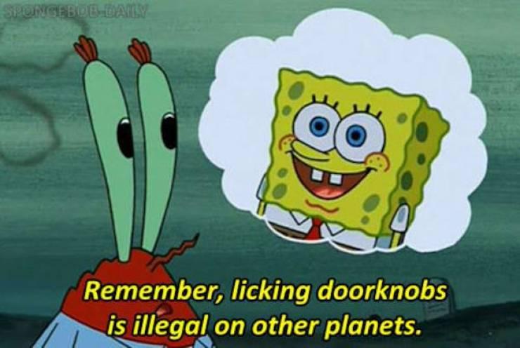 Sponge Bob, Square Jokes