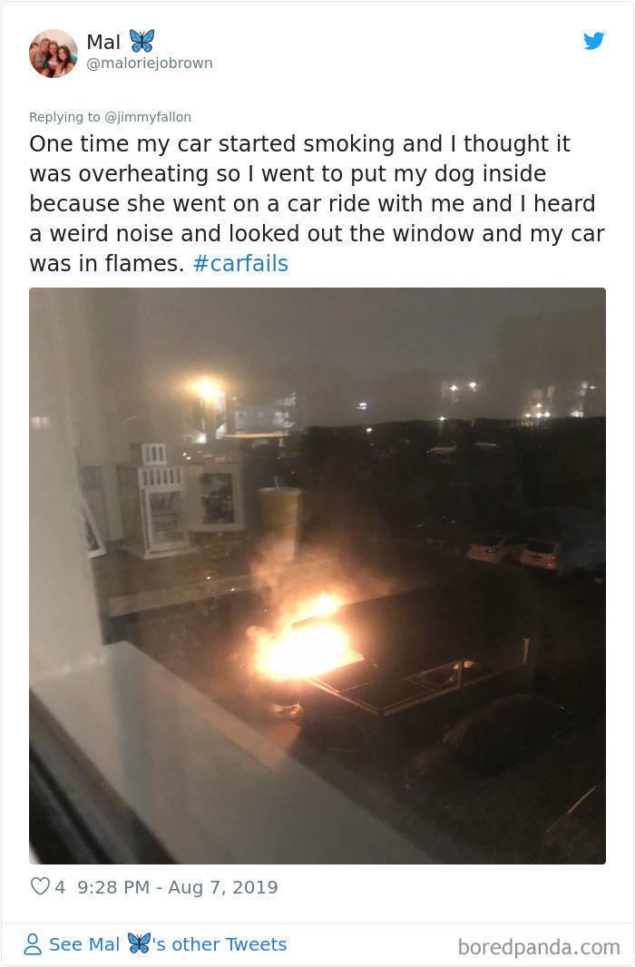 People Share Their Weirdest Car Fails