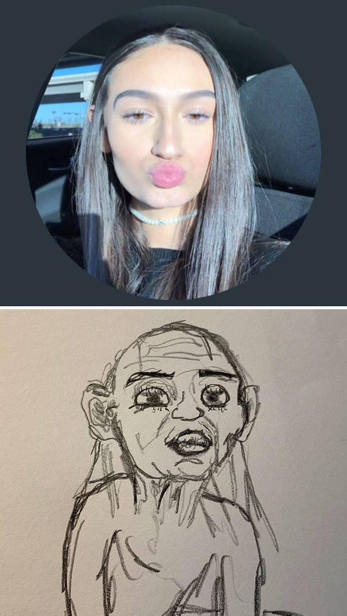 This Guy Is Drawing People's Twitter Profile Pics, And They're Weirdly Hilarious