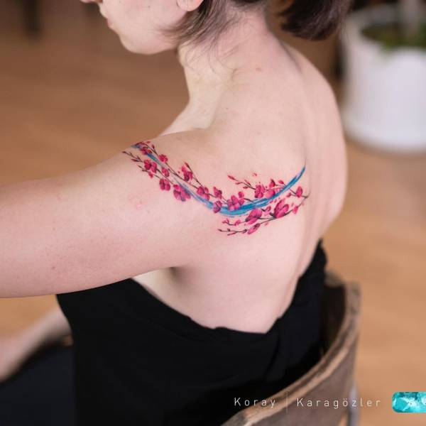 Watercolor Technique Adds So Much Beauty To These Tattoos