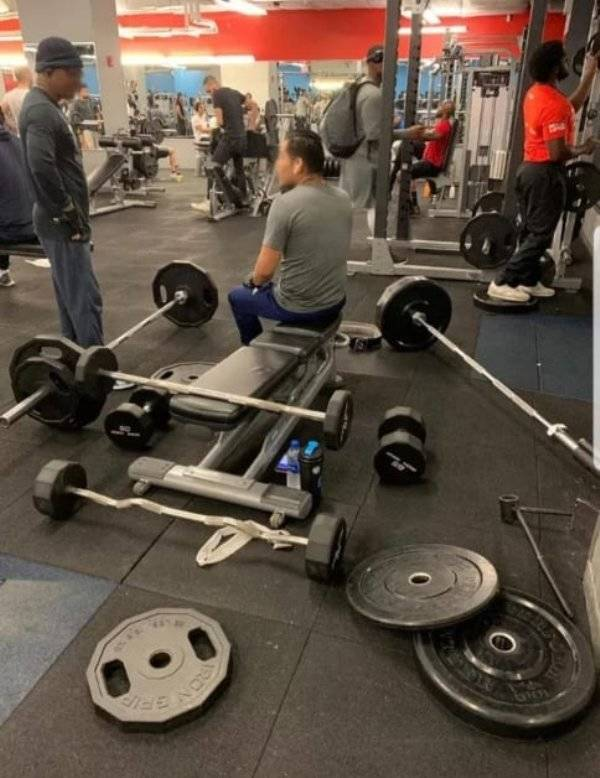 Gyms Are Where People Come To Train Their Weirdness