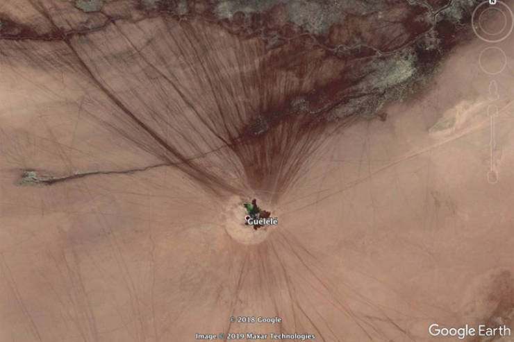 You Can Always Find Something Interesting On Google Earth