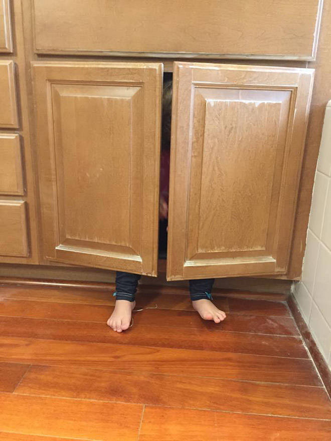 You Will Never Find These Hiding Kids!