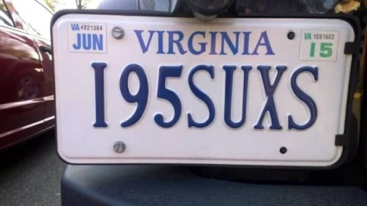 Vanity Plates Are For When You Want To Show Off, But Only A Little Bit