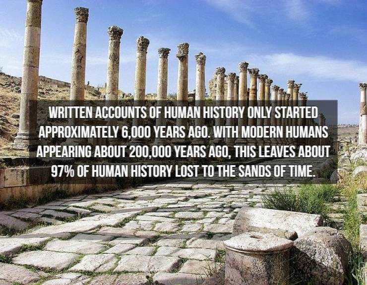 History Is So Weird, When You Come To Think Of It