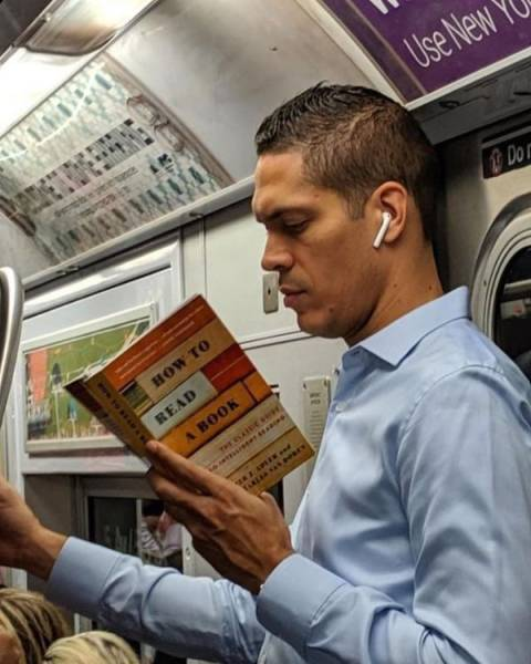 Why Would You Read This On The Subway?!