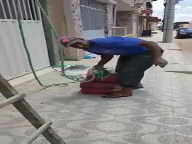 Lifting Some Cement