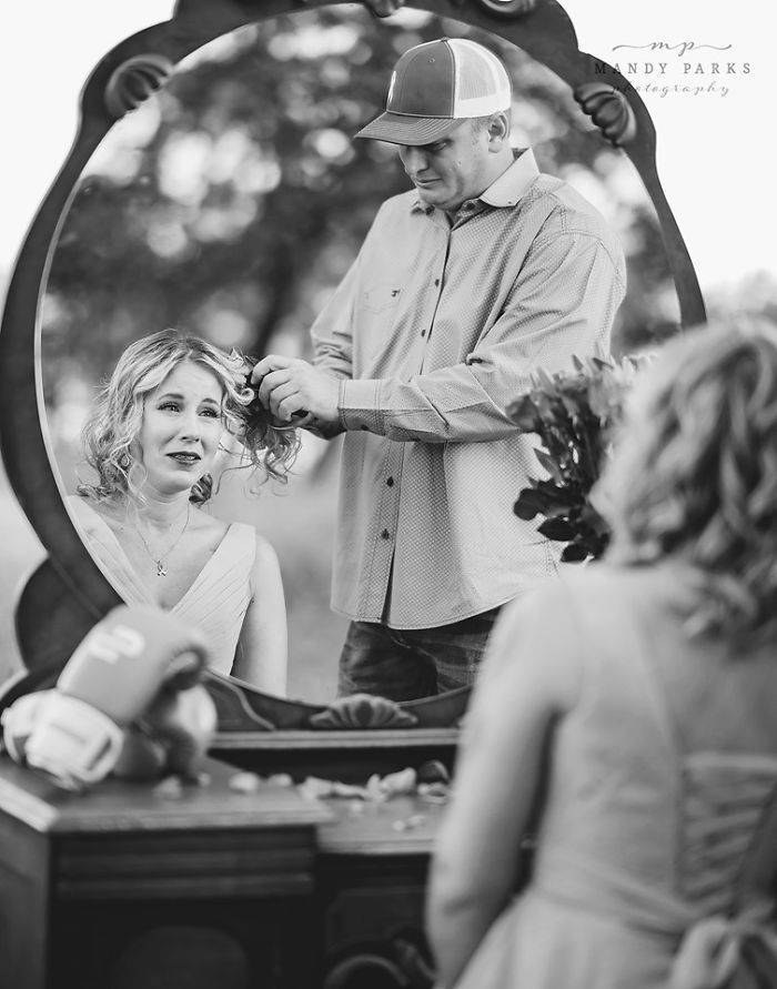 An Incredibly Heartfelt Photoshoot About A Loving Husband And His Wife Preparing To Battle Breast Cancer