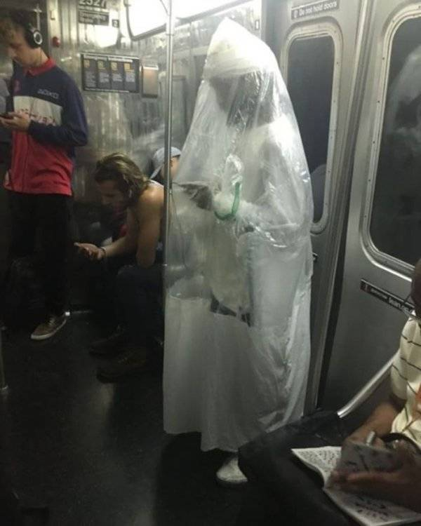 Subway Is Such A Fun Place!