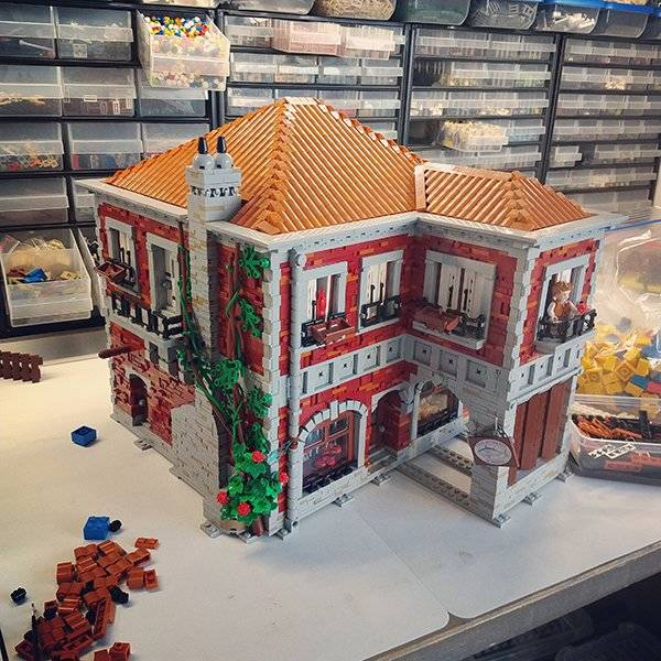 Prepare To Construct With Some LEGO
