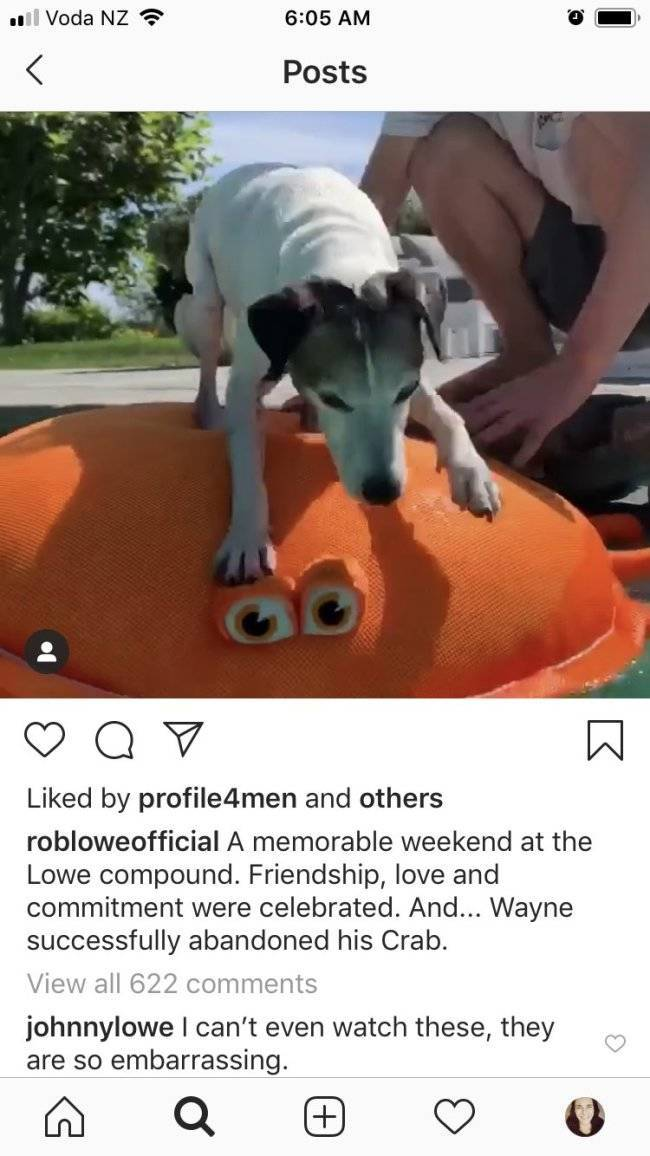 Rob Lowe's Son Loves Roasting His Father
