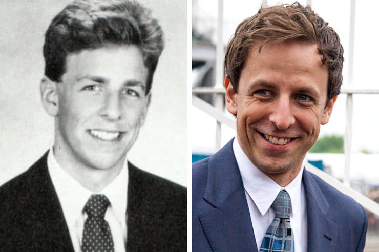 TV Show Hosts When They Were Young And Now