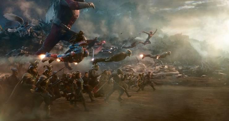 """Avengers: Endgame"" Massive Battle, But Without Computer Graphics"