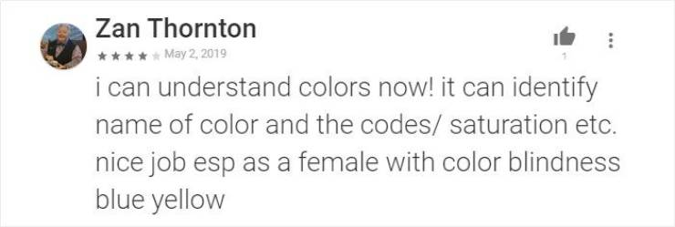 Colorblind Man Creates An App That Helps People Like Him To Finally See Real Colors