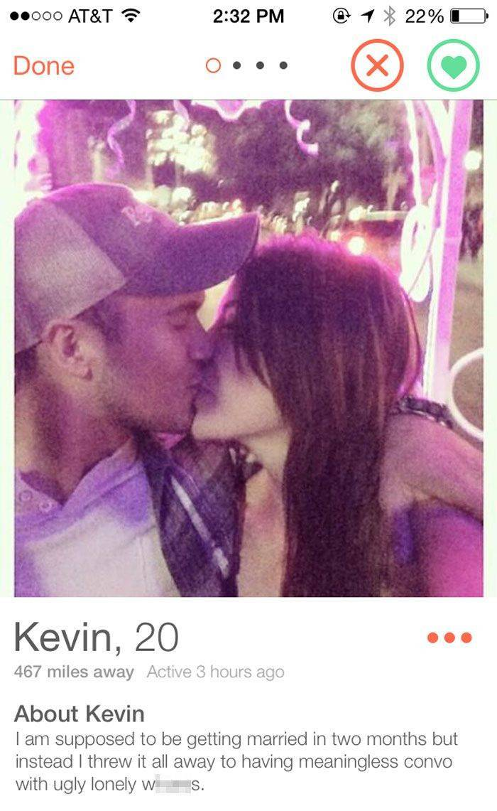 When Cheaters Are Found On Tinder