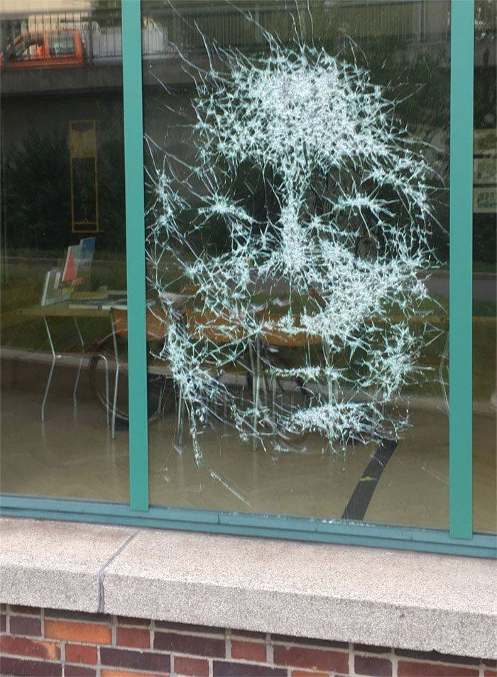 Is That Broken Glass, Or Is That Art? Or Both?