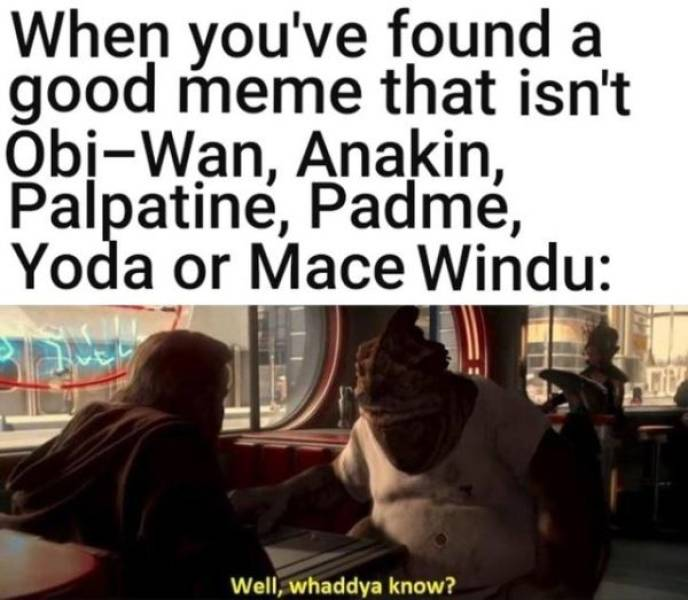 """A Sequel To The """"Star Wars"""" Prequel Memes"""