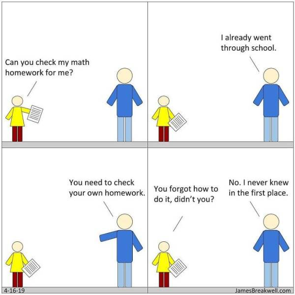 Sometimes Simplest Comics About Family Are The Best