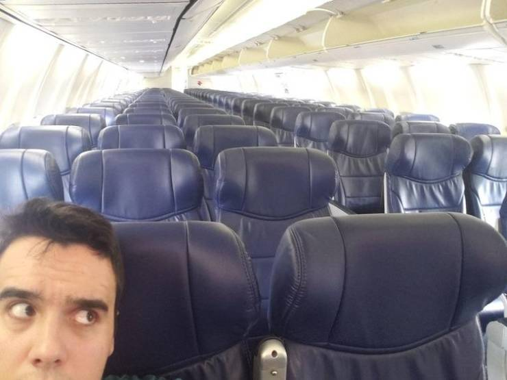 Airplane Flights Are Always So Dramatic…