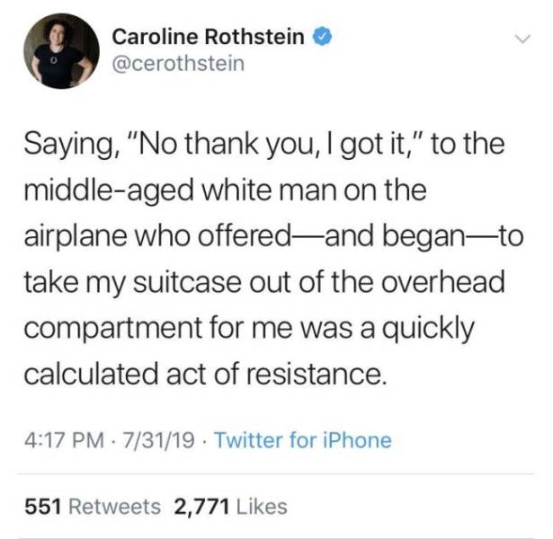 Entitlement Is The Worst Sin