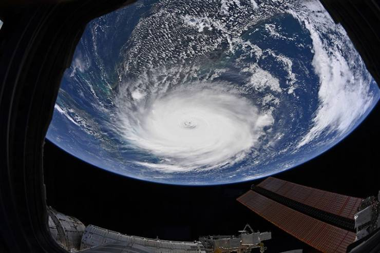 How Hurricane Dorian Looks From Space