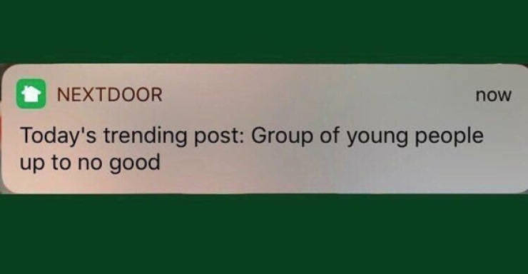 """What's Wrong With These """"NextDoor"""" Posts?"""
