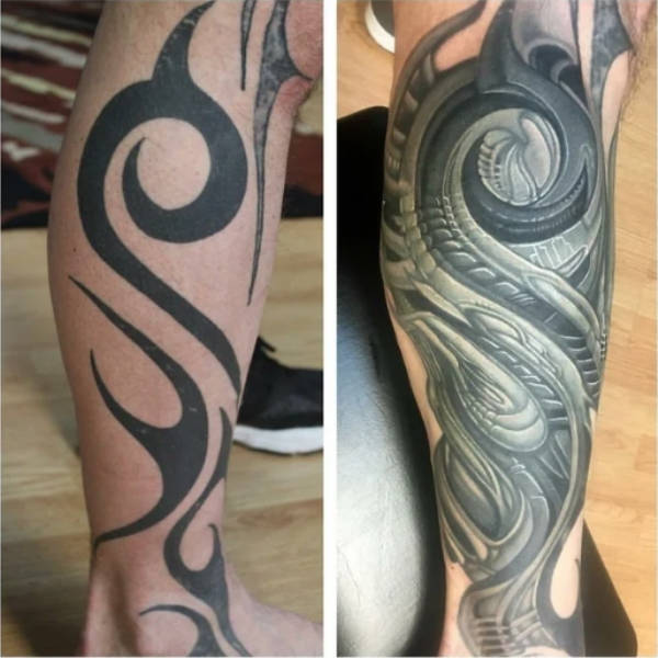Cover-Ups Can Save The Worst Tattoos
