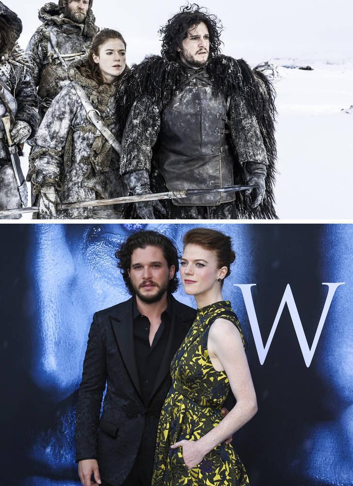 Képernyőn megjelenő párok, amelyek valódi szerelmi történetekké váltak