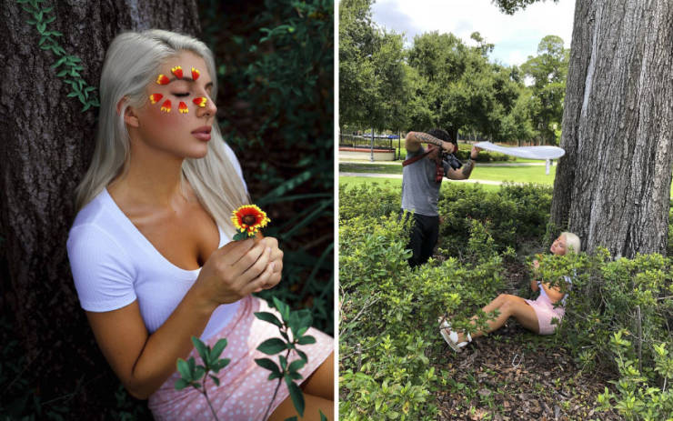 """Photographer Shows How """"Perfect"""" Photos Are Made"""