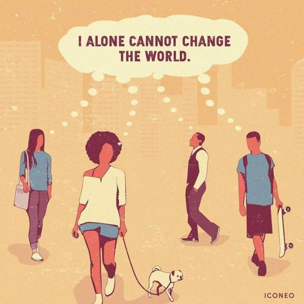 Somewhat Disturbing Illustrations About Our World