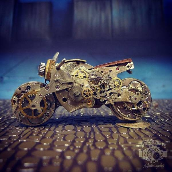 Artist Gives Old Watches A New Life