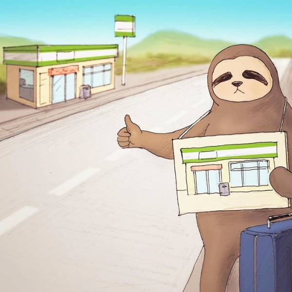 Sloths Are Our Spirit Animals