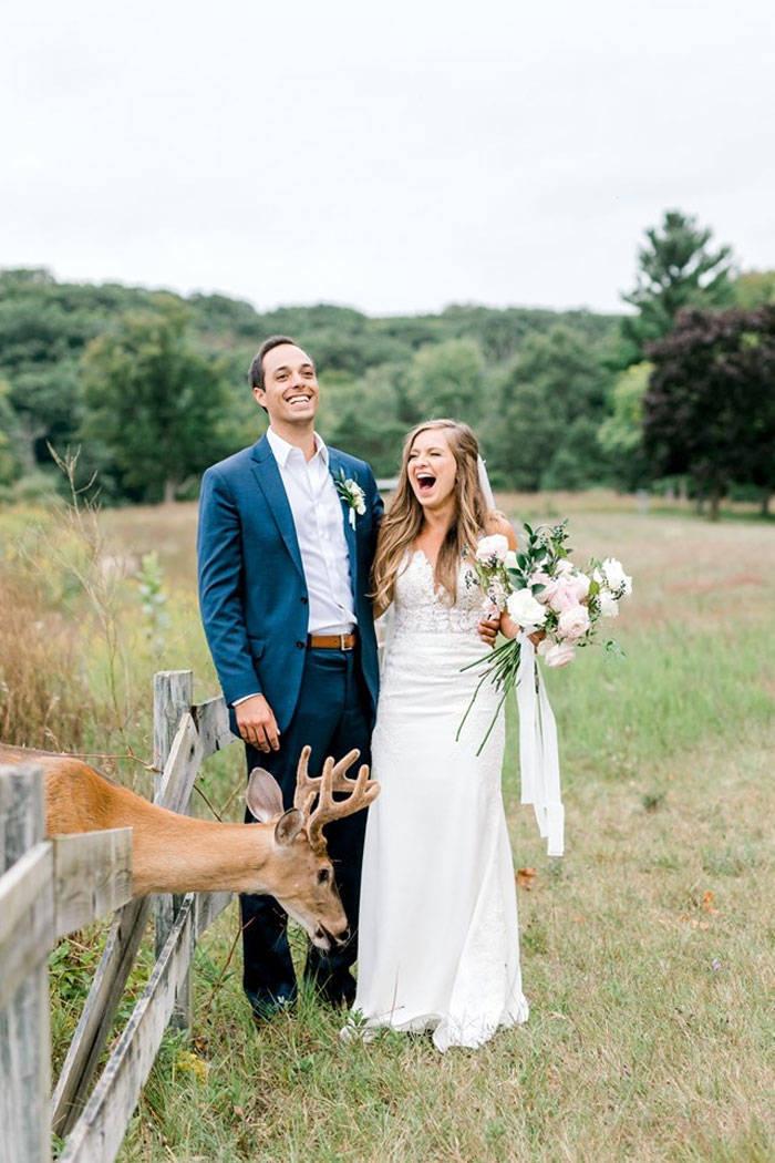 The Best Way To Interrupt A Wedding Photoshoot