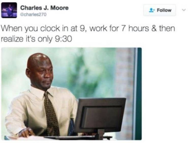 Work Memes Are Your Only Consolation
